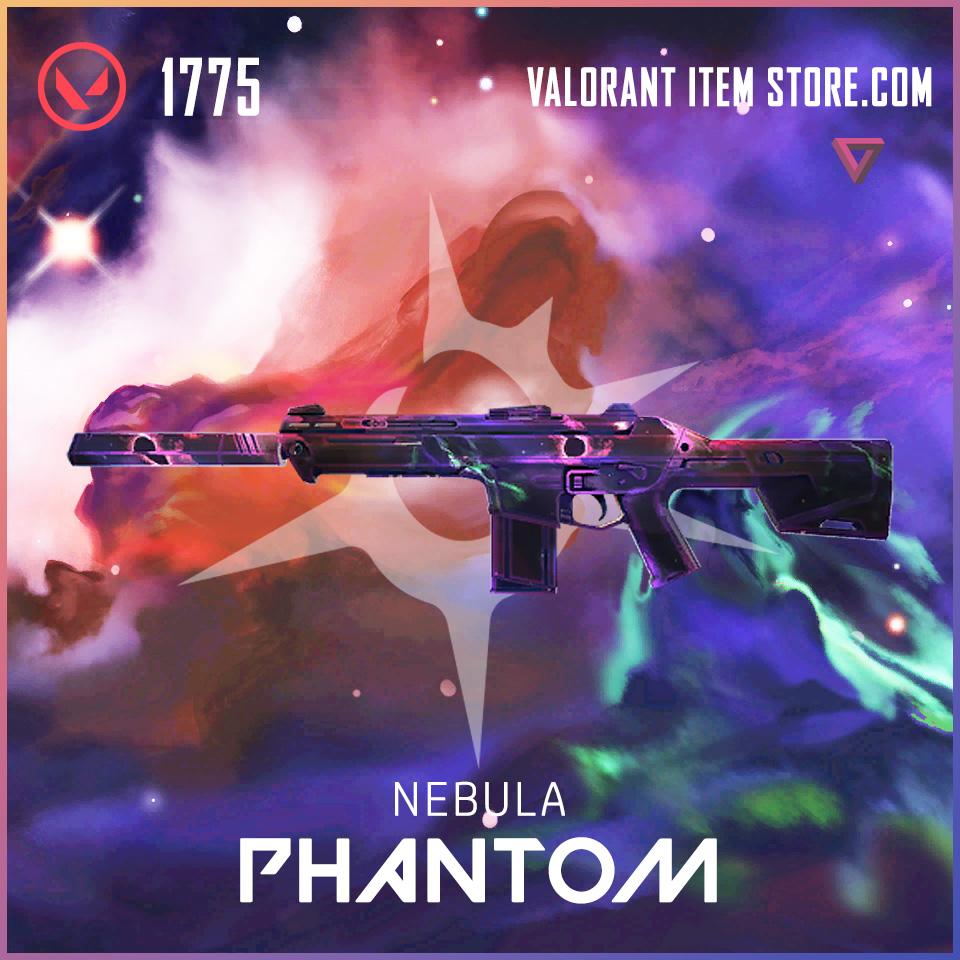 Nebula Phantom Valorant Skin