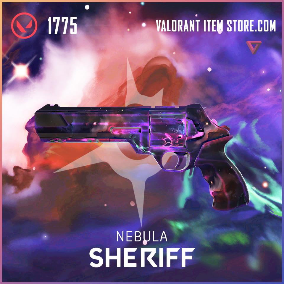Nebula Sheriff Valorant Skin