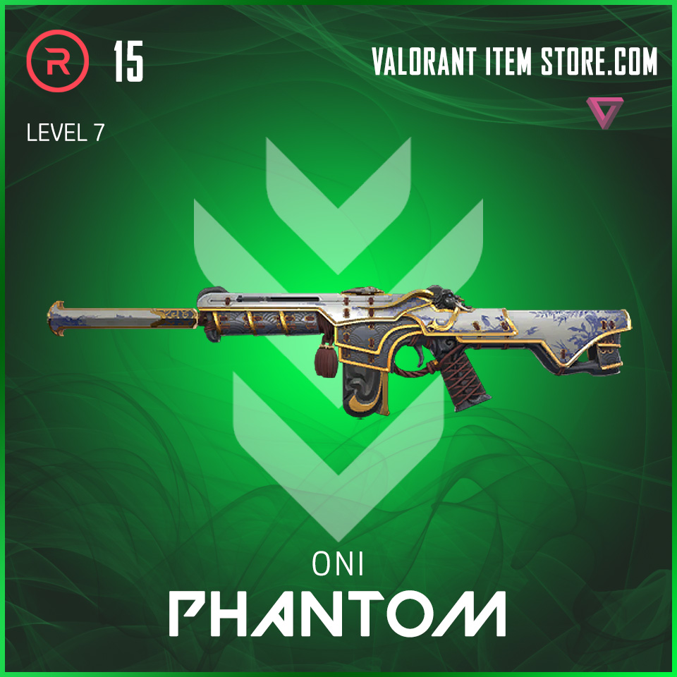 Oni Phantom Level 7 Valorant Skin
