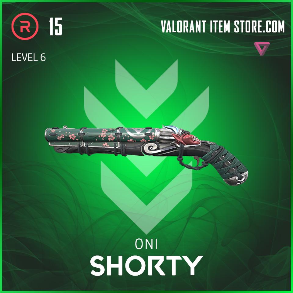 Oni Shorty Level 6 valorant skin