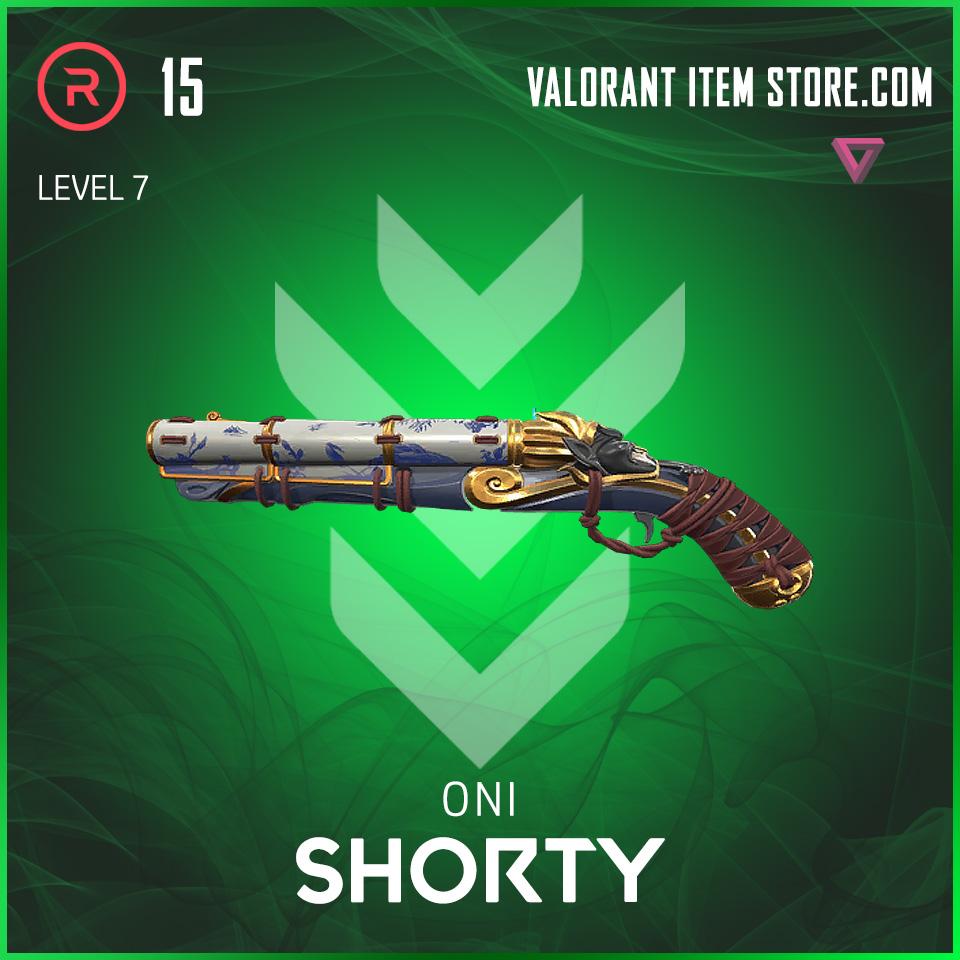 Oni Shorty Level 7 valorant skin