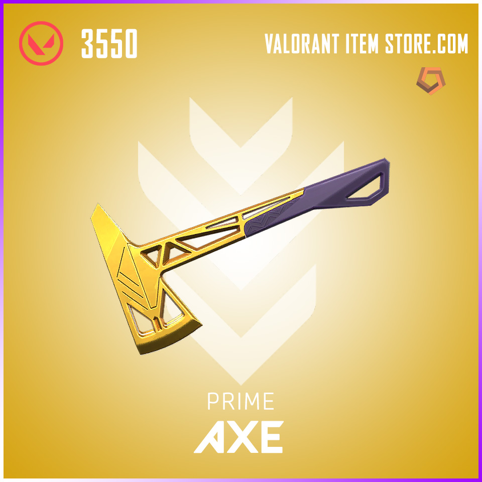 Prime Axe valorant skin