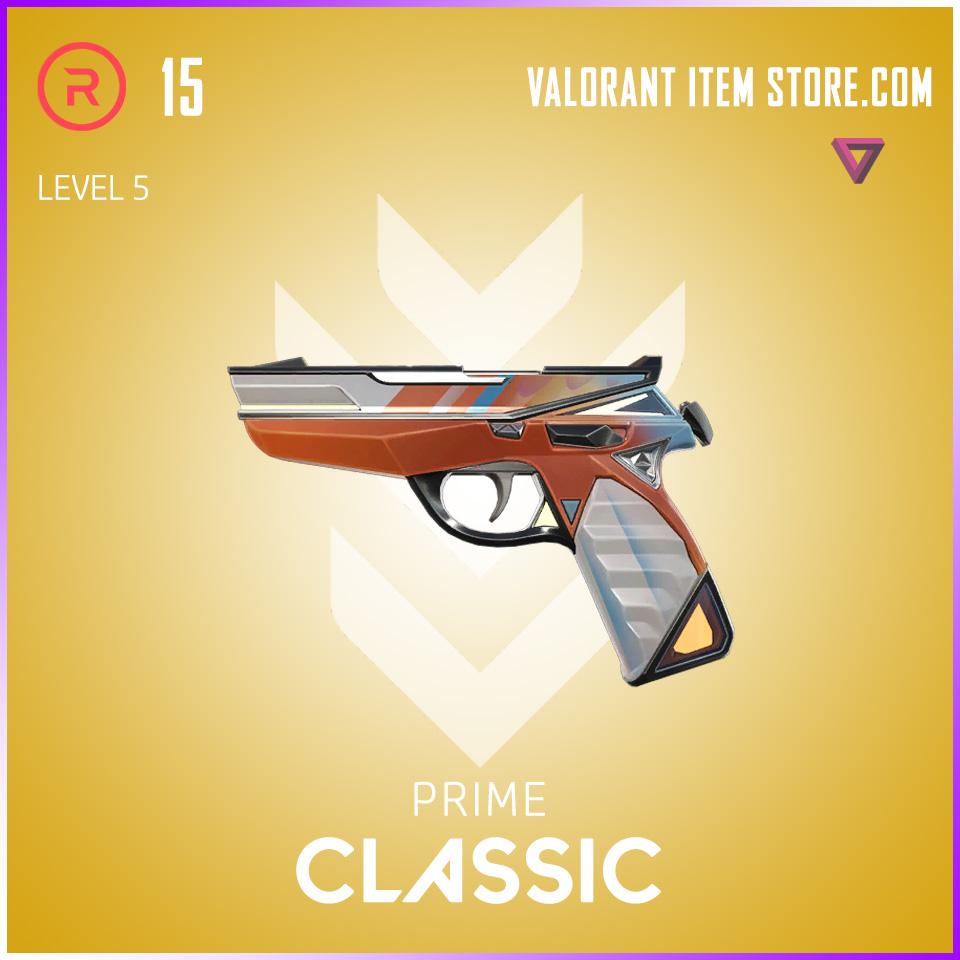 Prime Classic Level 5 Valorant Skin