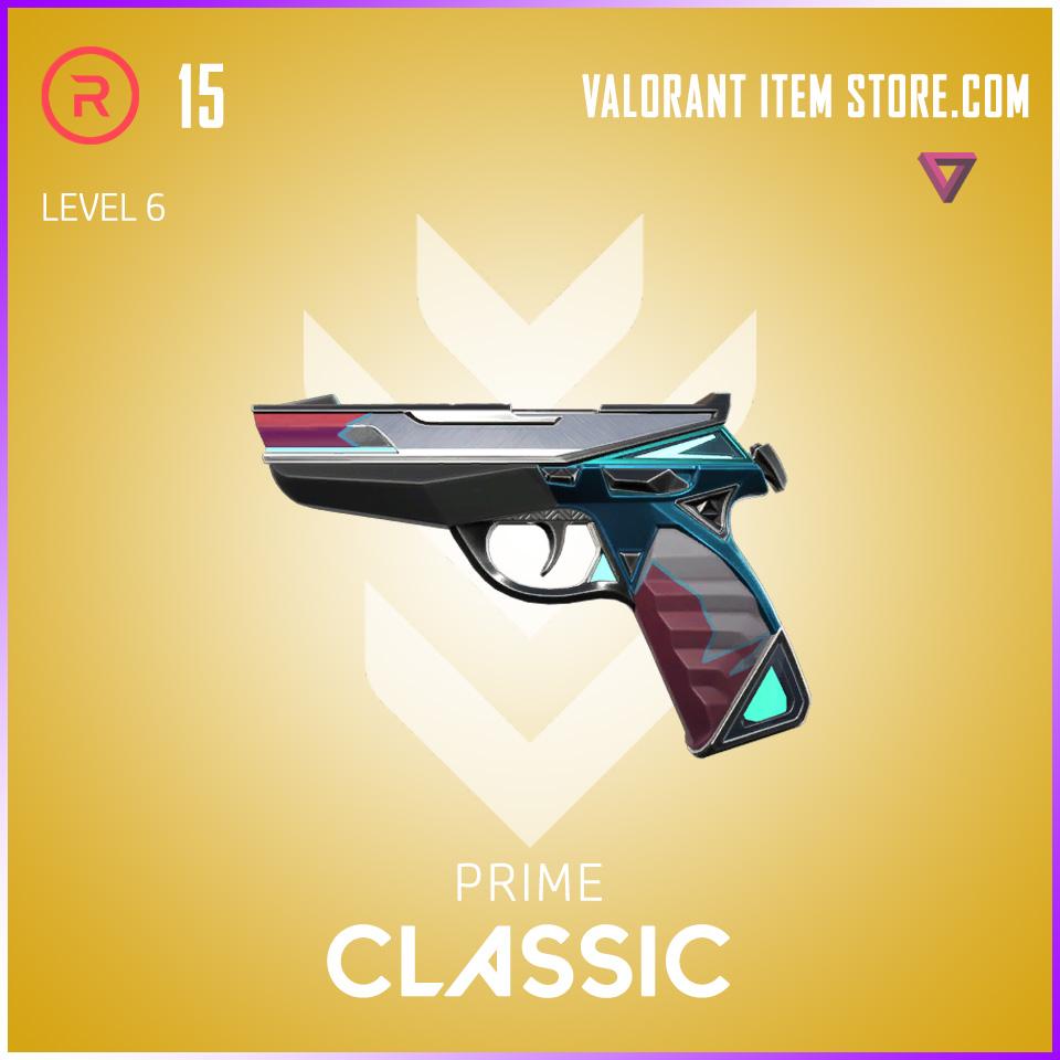 Prime Classic Level 6 Valorant Skin
