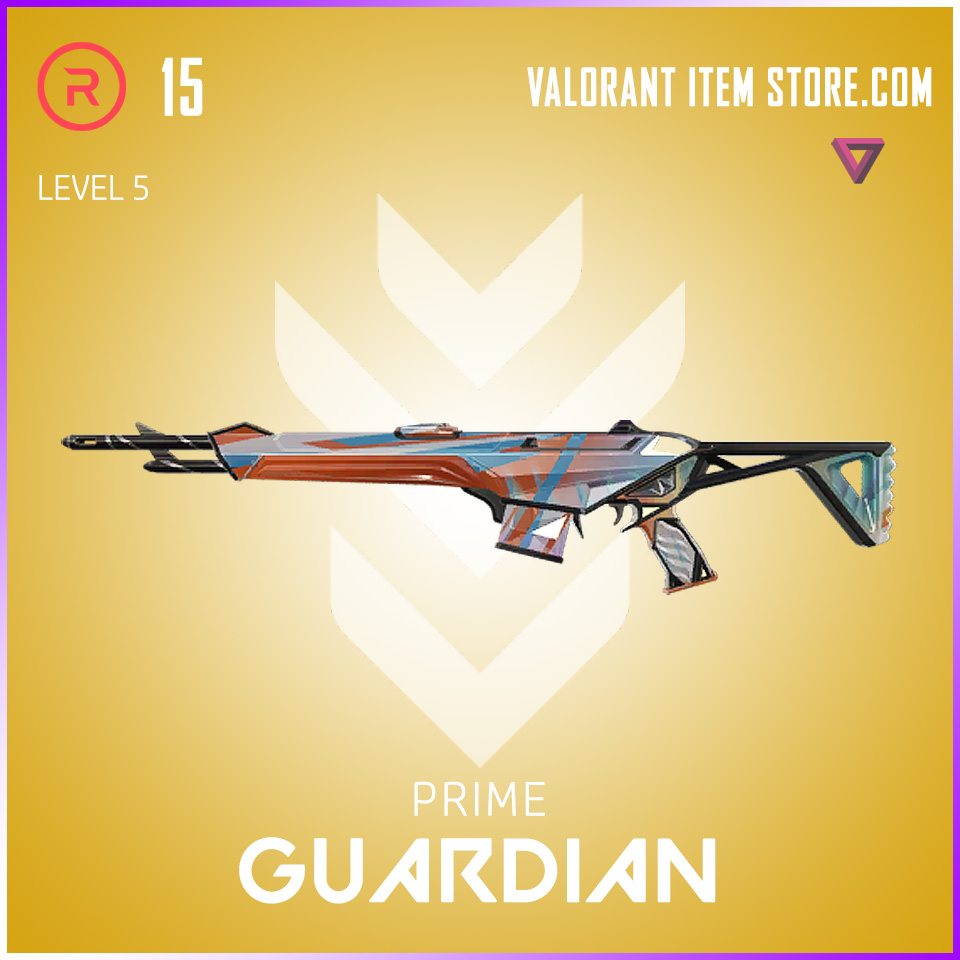 Prime Guardian Level 5 Valorant Skin