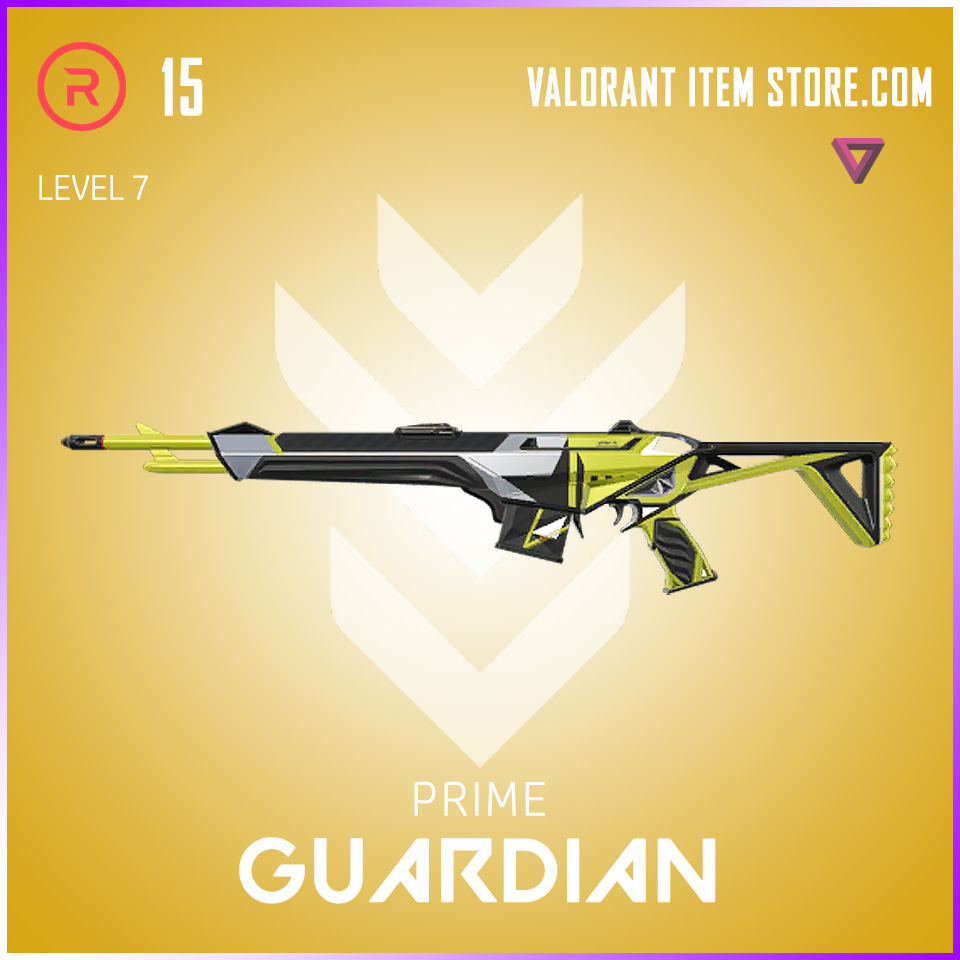 Prime Guardian Level 7 Valorant Skin