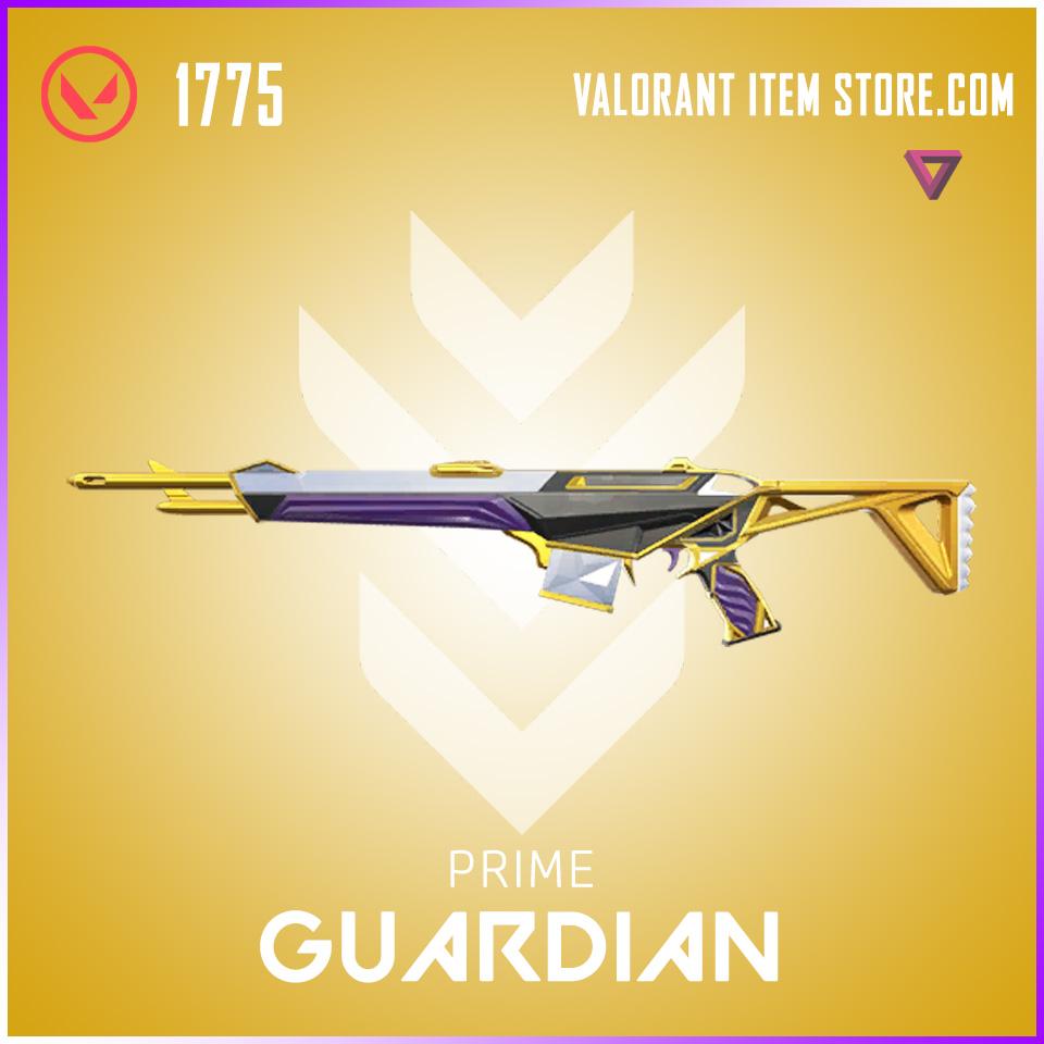 Prime Guardian Valorant Skin