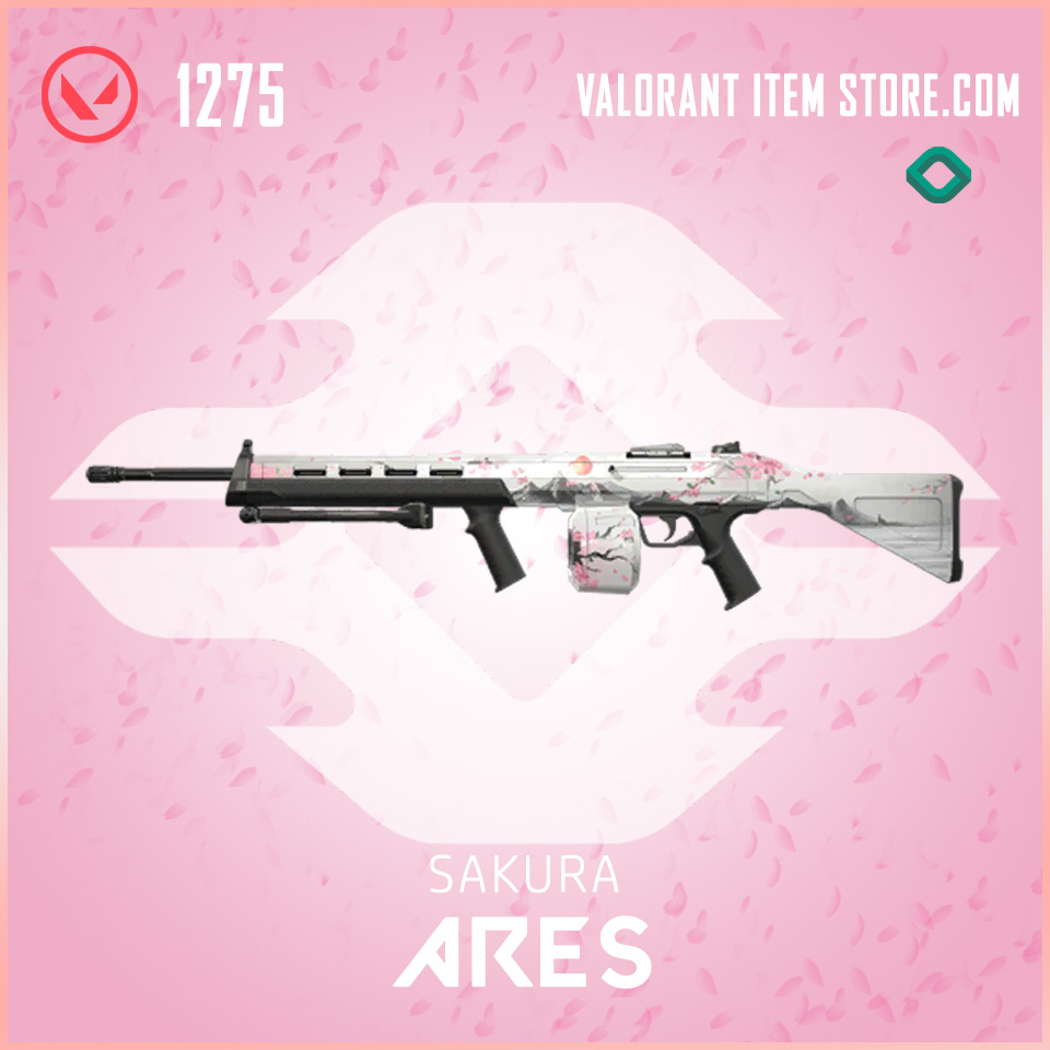 Sakura Ares Valorant Skin