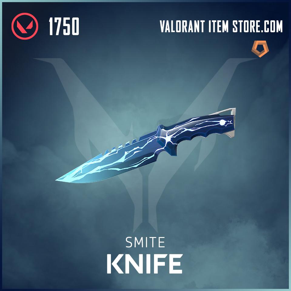 Smite Knife Valorant Skin