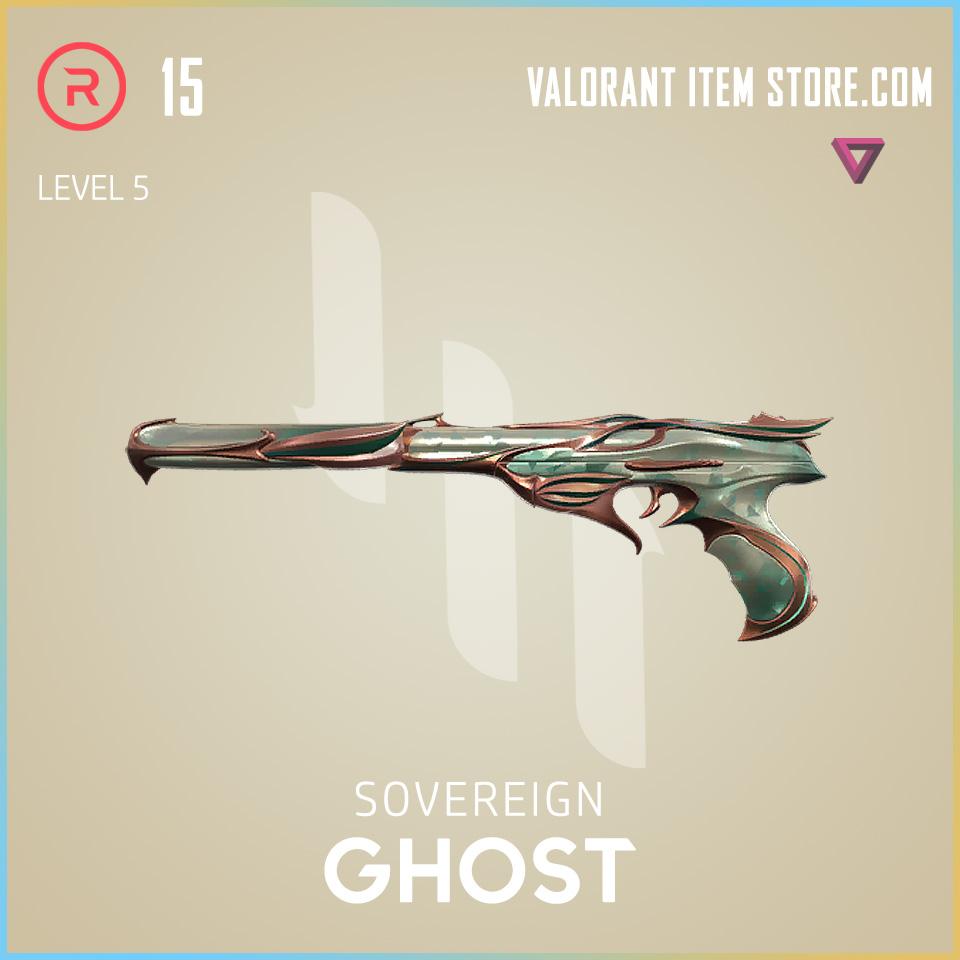 Sovereign Ghost Level 5 Valorant Skin