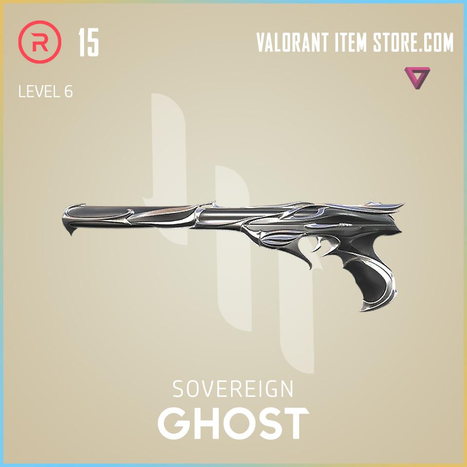 Sovereign Ghost Level 6 Valorant Skin
