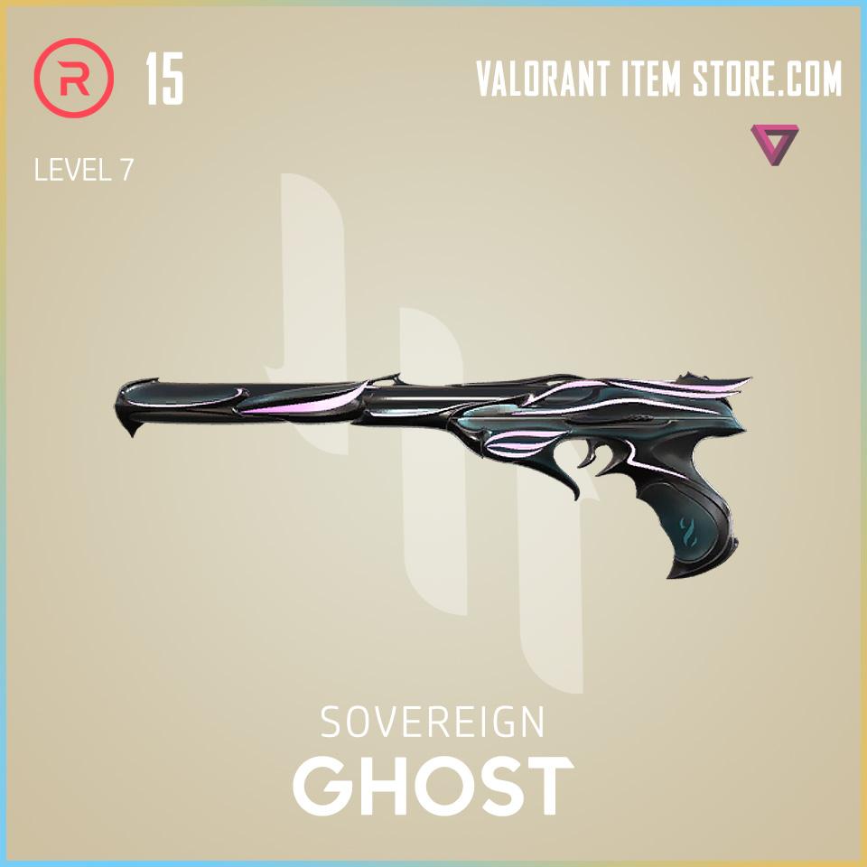Sovereign Ghost Level 7 Valorant Skin