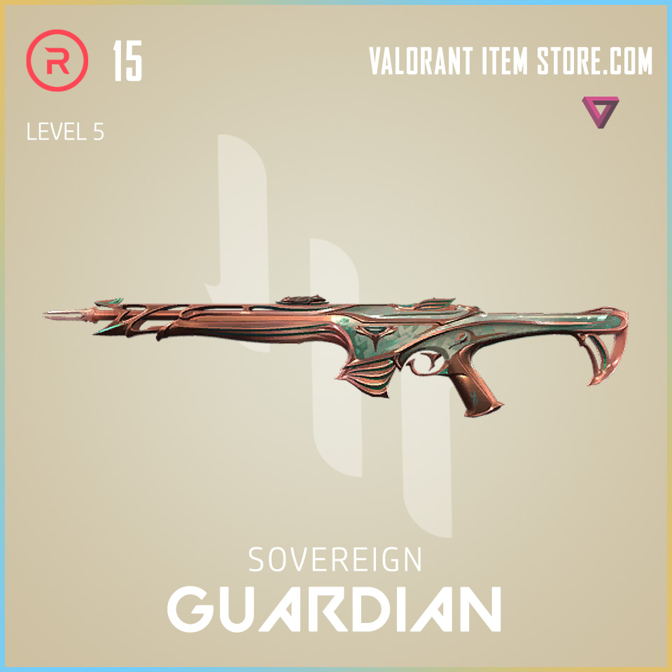 Sovereign Guardian Level 5 Valorant Skin