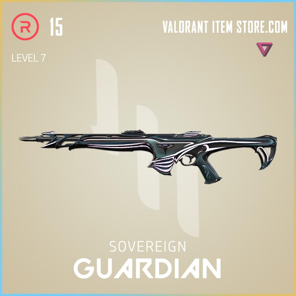 Sovereign Guardian Level 7 Valorant Skin