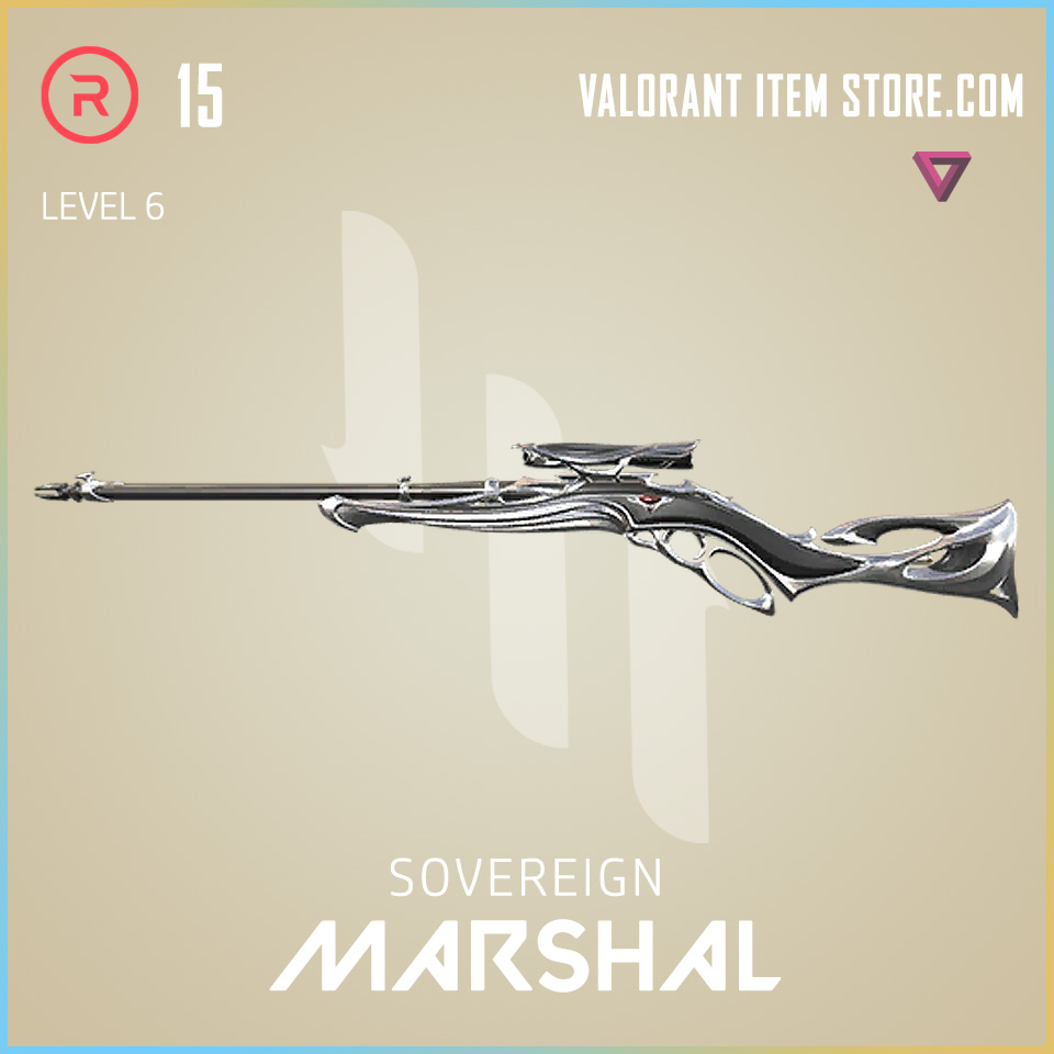 Sovereign Marshal Level 6 Valorant Skin
