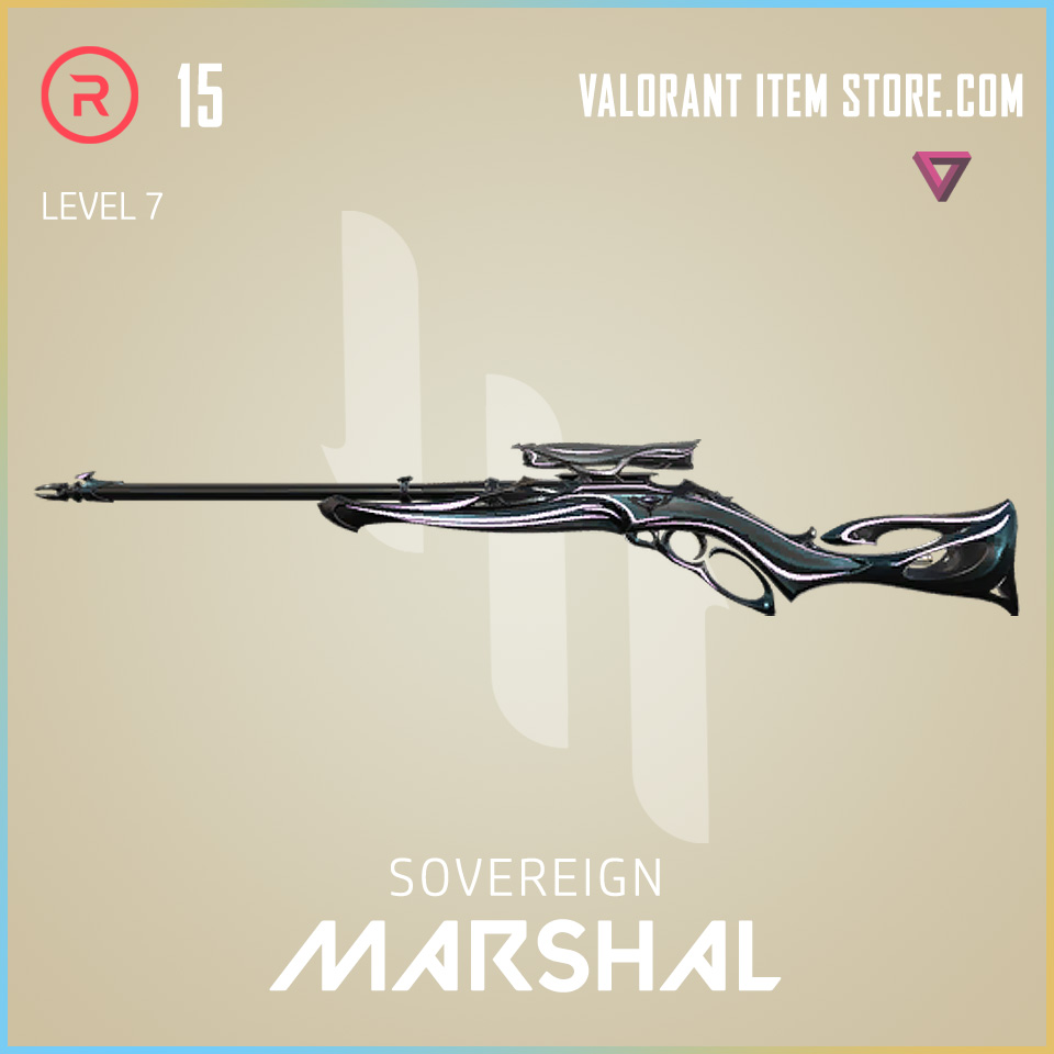 Sovereign Marshal Level 7 Valorant Skin