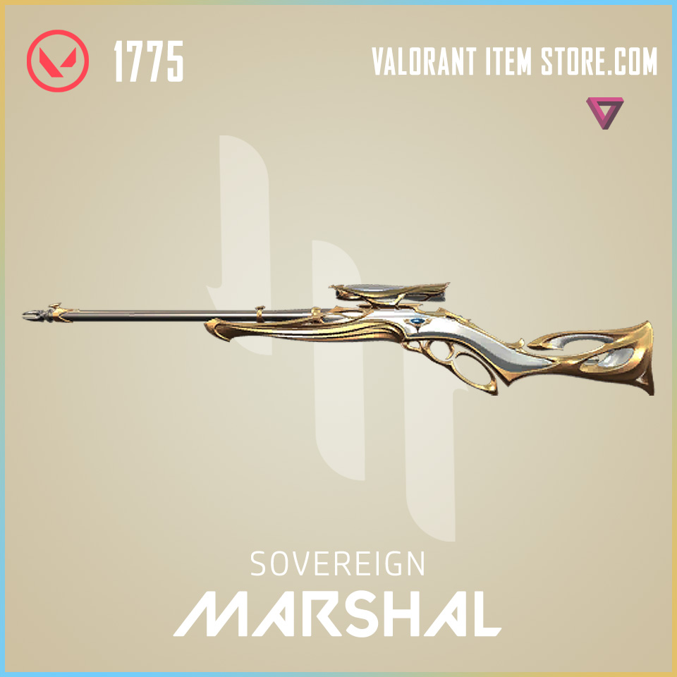 Sovereign Marshal Valorant Skin