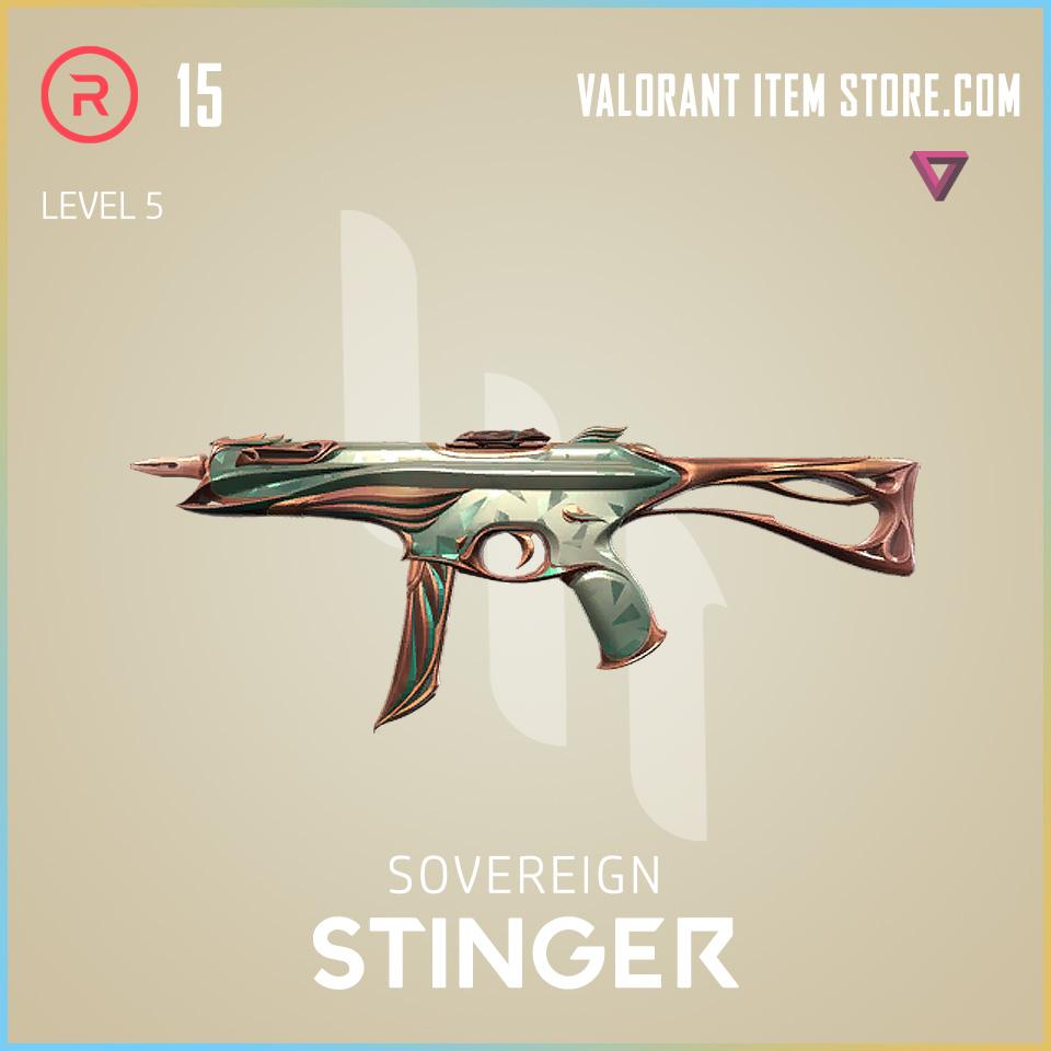 Sovereign Stinger Level 5 Valorant Skin