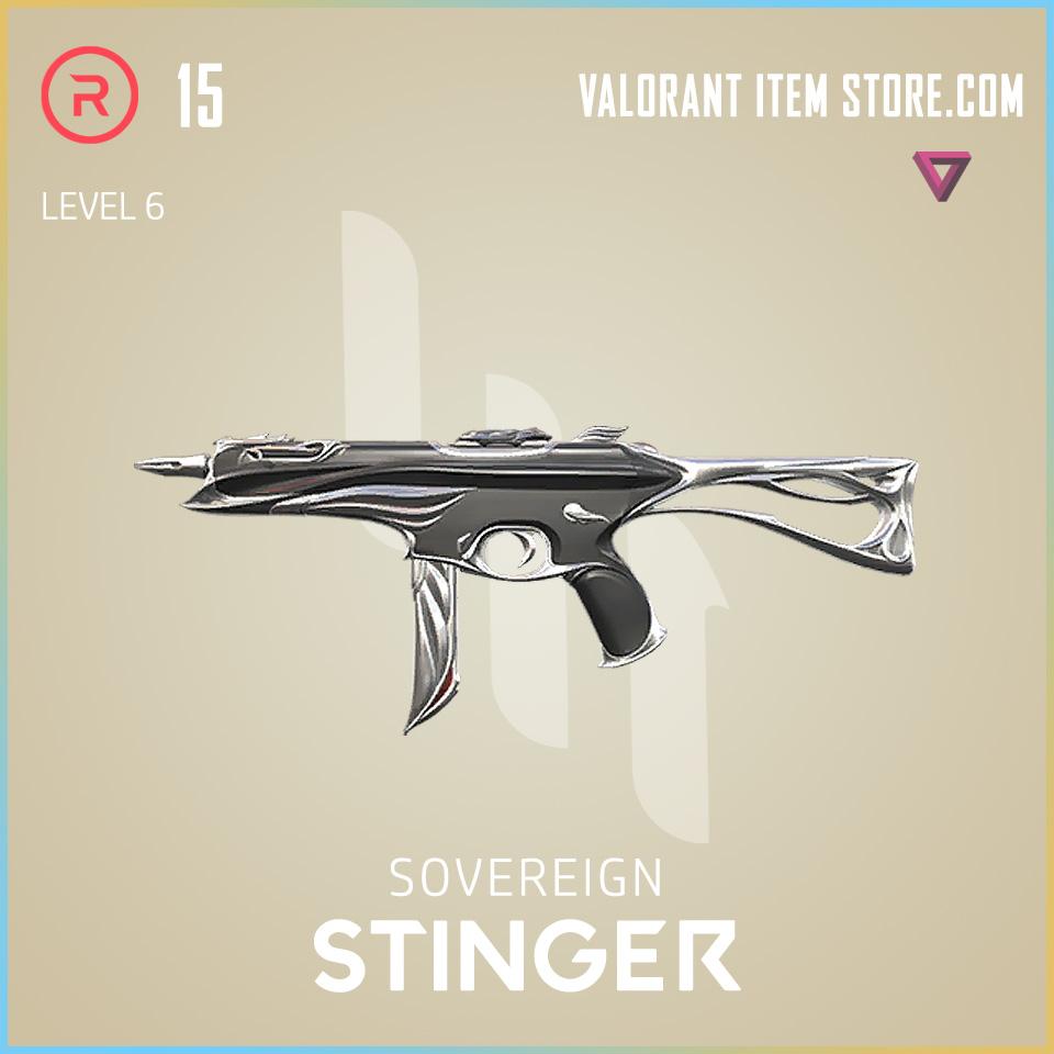 Sovereign Stinger Level 6 Valorant Skin