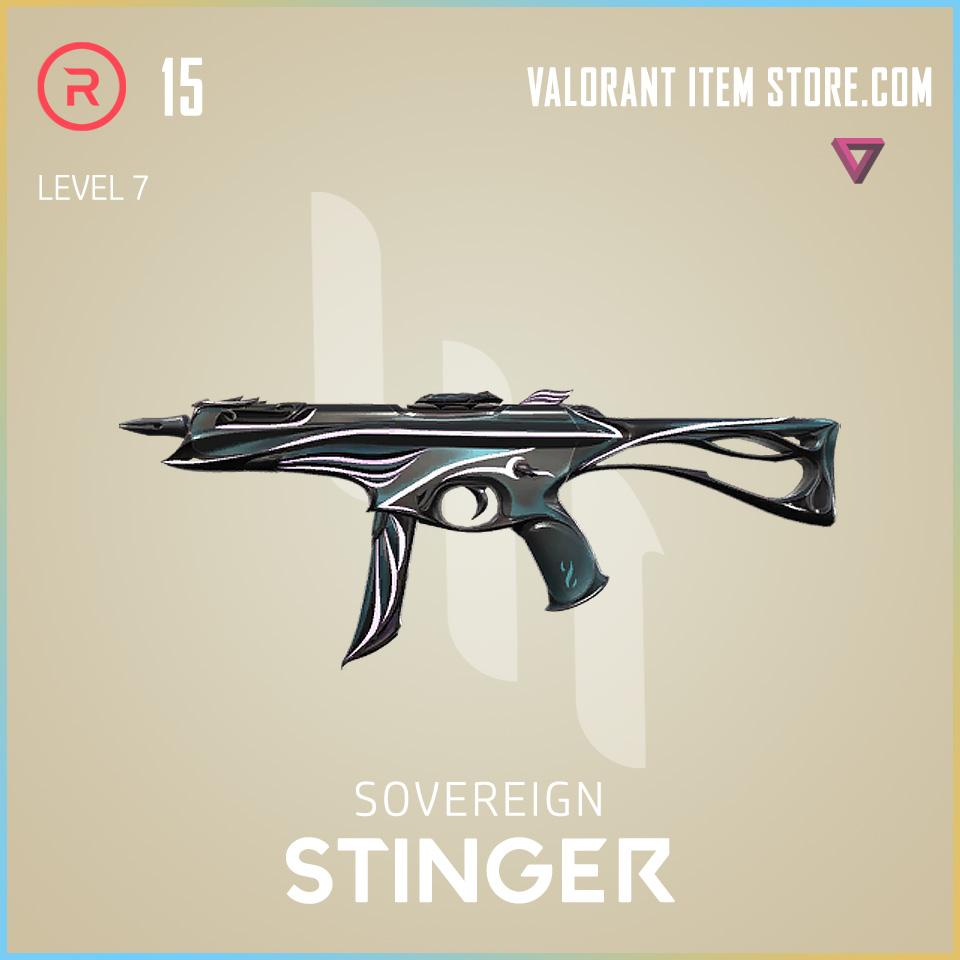Sovereign Stinger Level 7 Valorant Skin