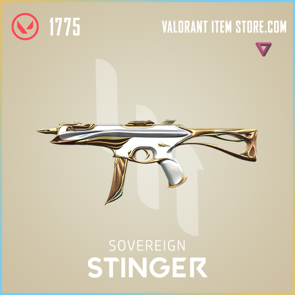 Sovereign Stinger Valorant Skin