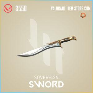 Sovereign Sword Valorant Skin