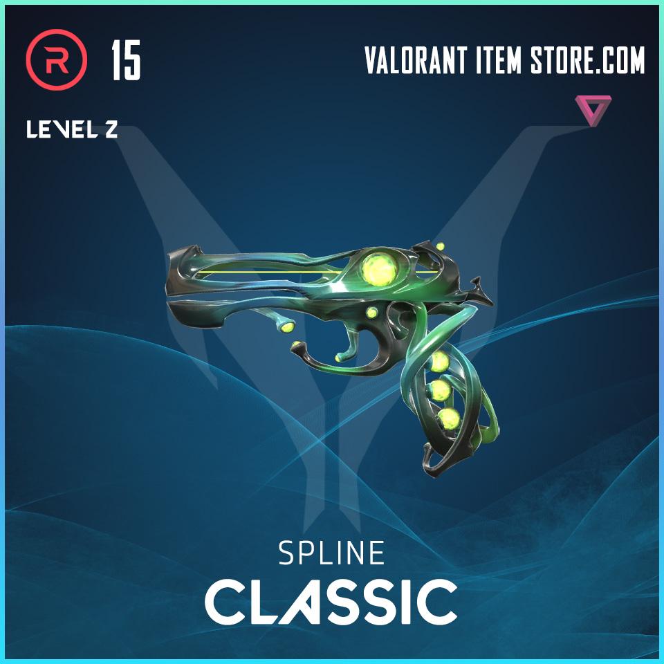 Spline Classic Level 2 Valorant Skin