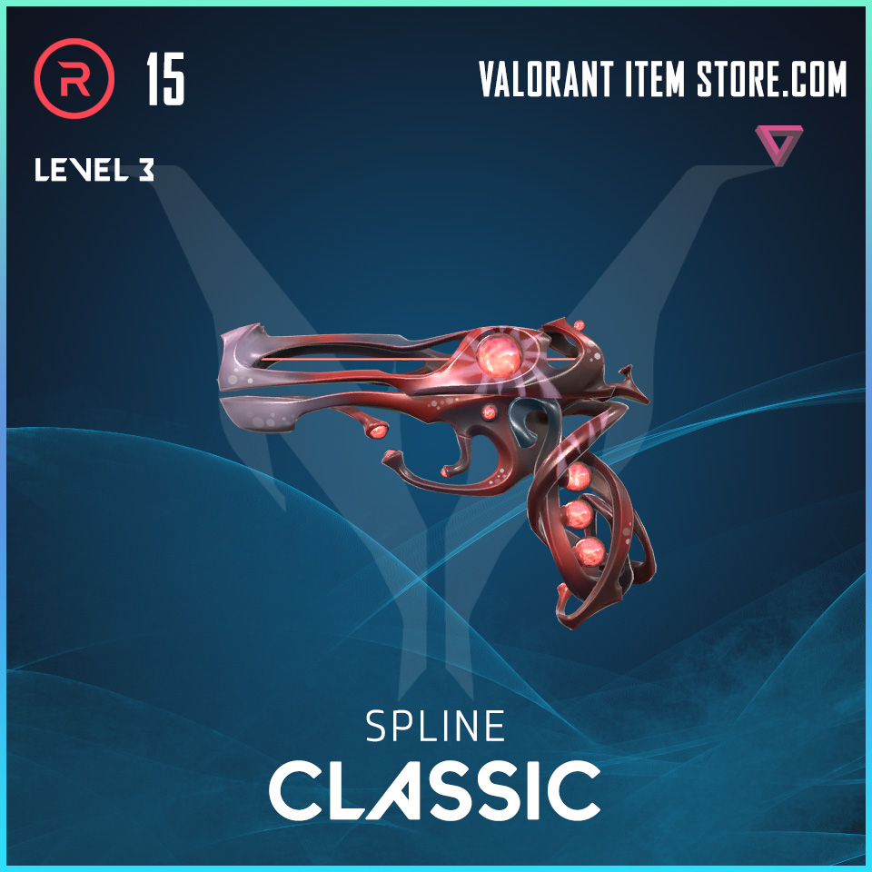 Spline Classic Level 3 Valorant Skin