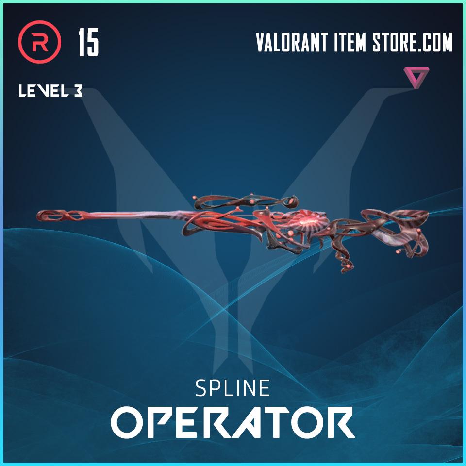 Spline Operator Level 3 Valorant Skin