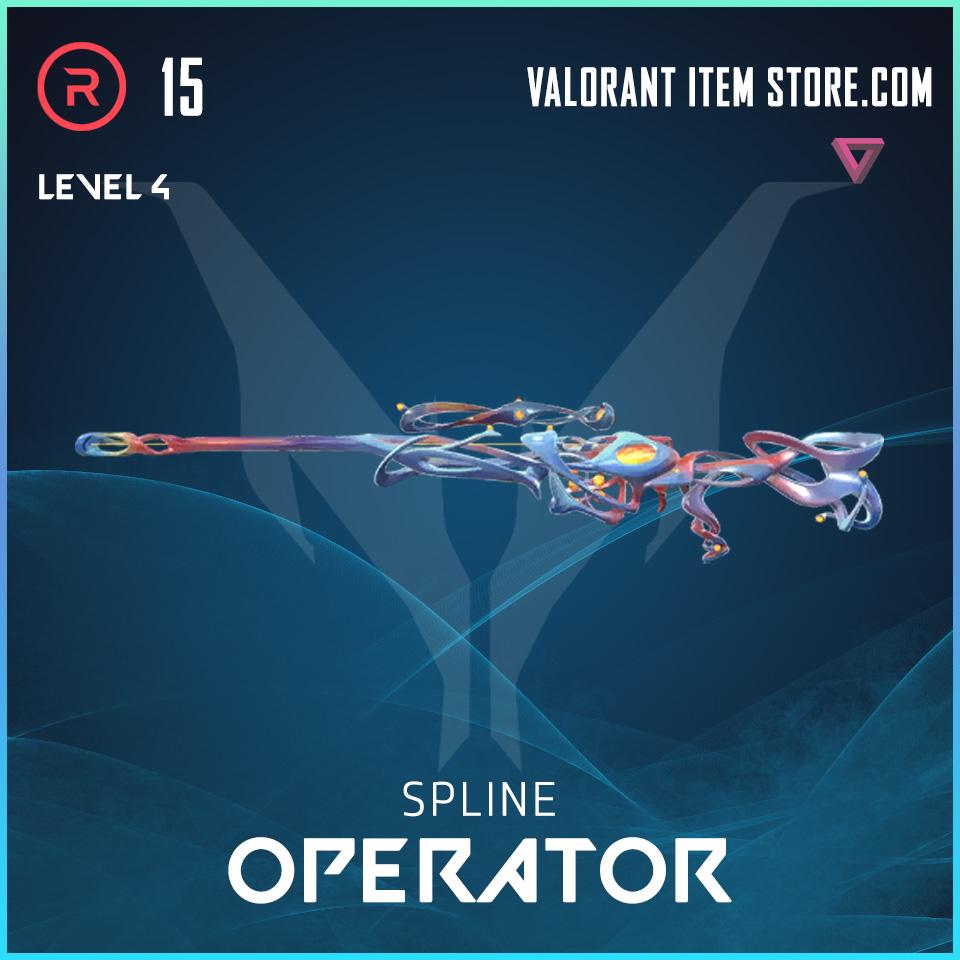Spline Operator Level 4 Valorant Skin