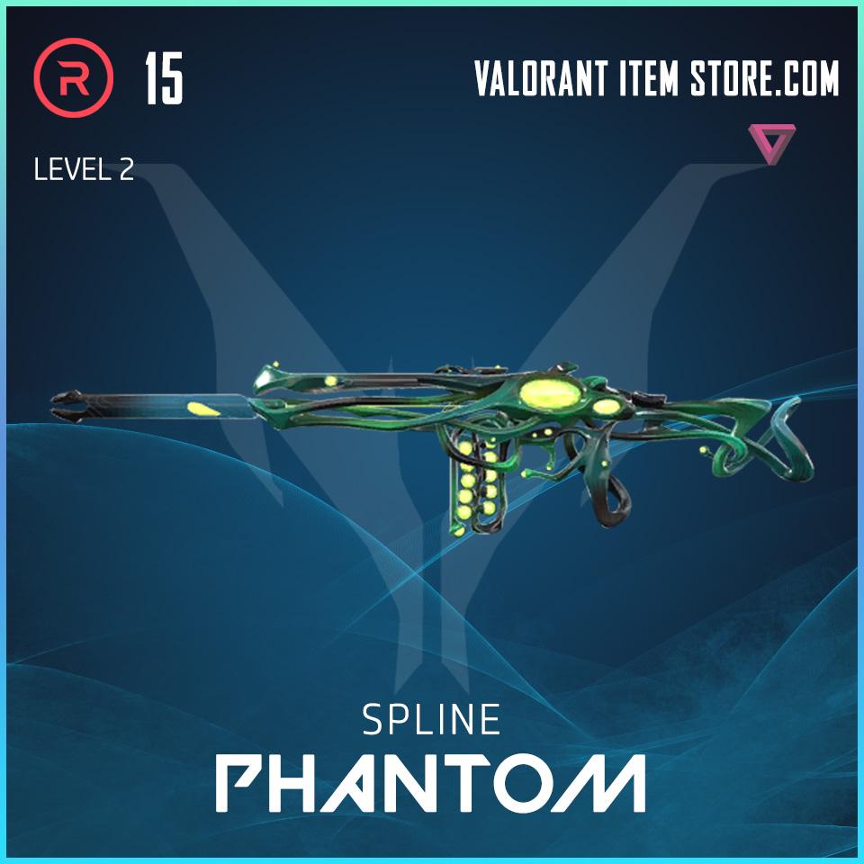 Spline Phantom Level 2 Valorant Skin