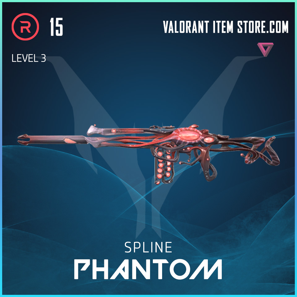 Spline Phantom Level 3 Valorant Skin