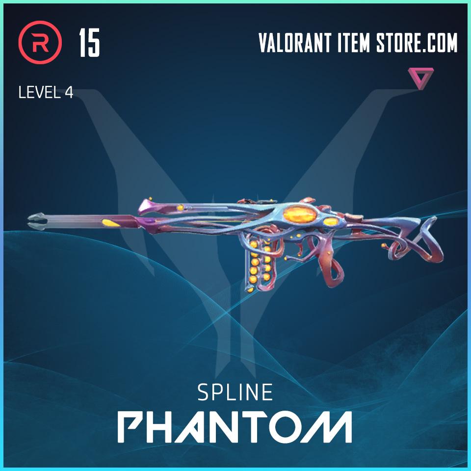 Spline Phantom Level 4 Valorant Skin