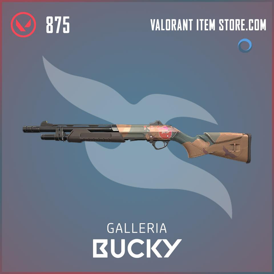 Galleria Bucky Valorant skin