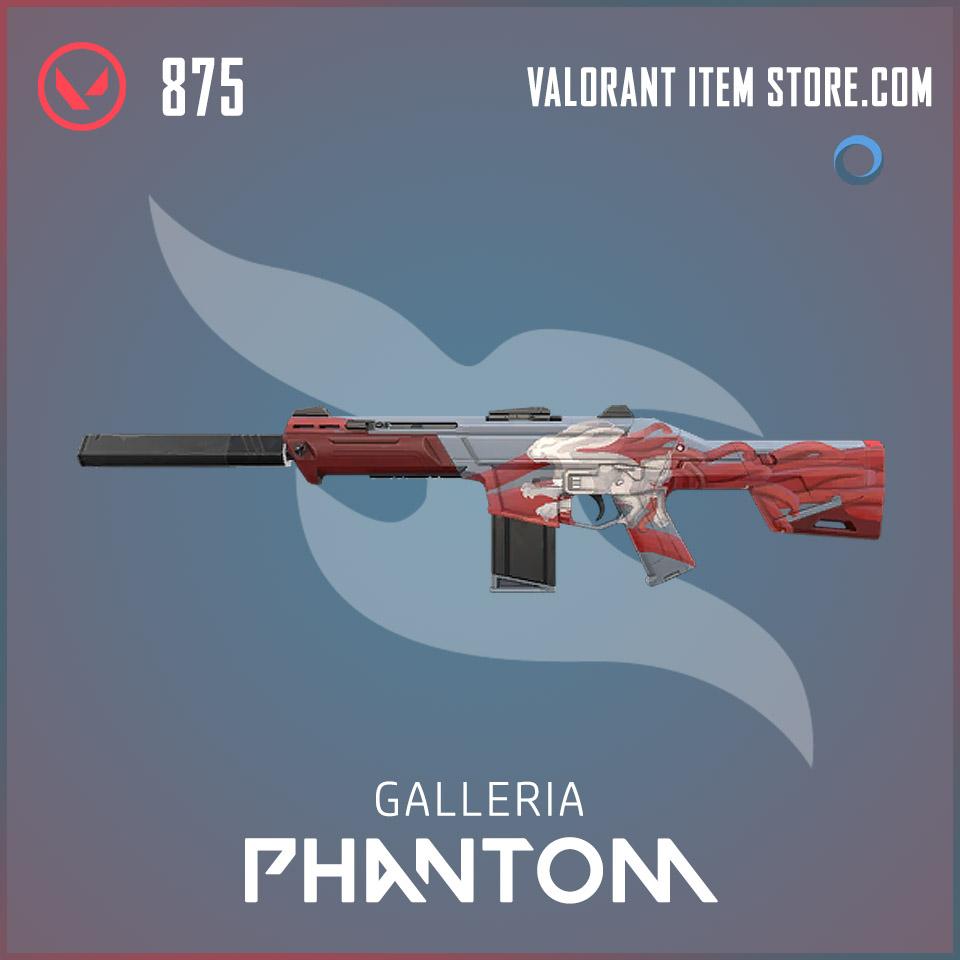 Galleria Phantom Valorant skin