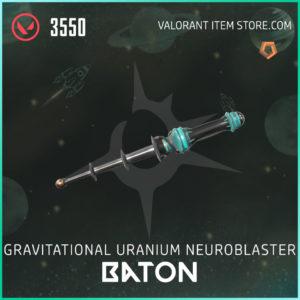 Gun Baton Valorant Skin