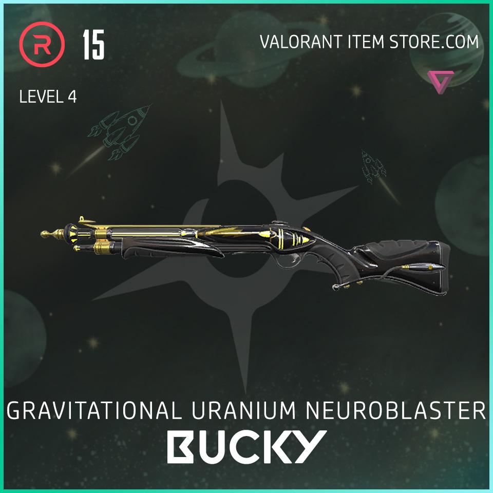Gun Bucky Level 4 Valorant Skin