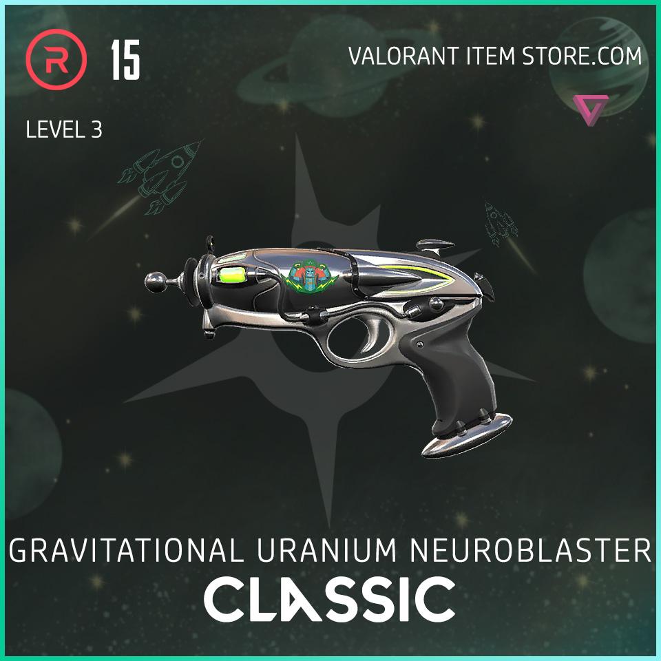 Gun Classic Level 3 Valorant Skin