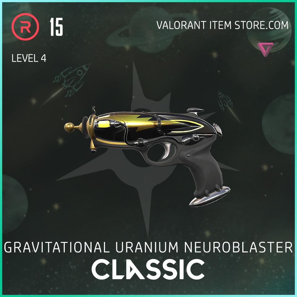 Gun Classic Level 4 Valorant Skin