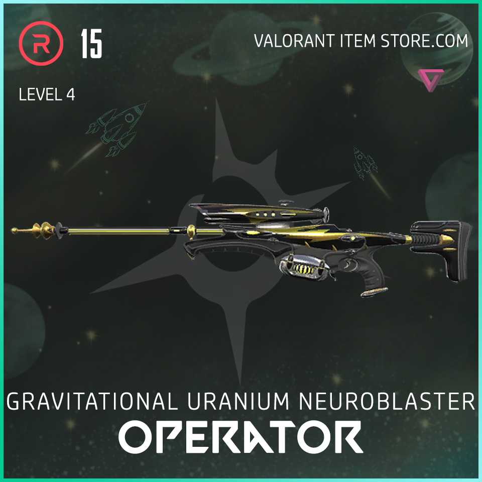 Gun Operator Level 4 Valorant Skin