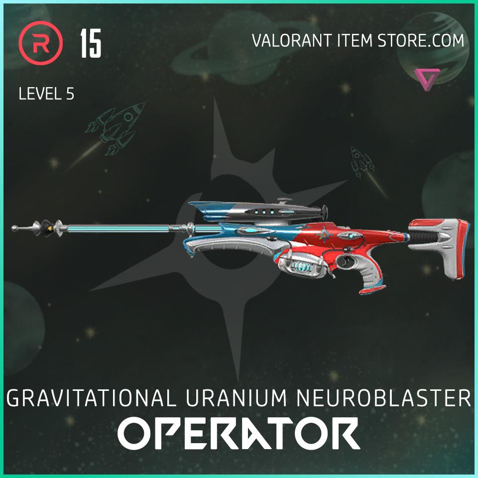 Gun Operator Level 5 Valorant Skin