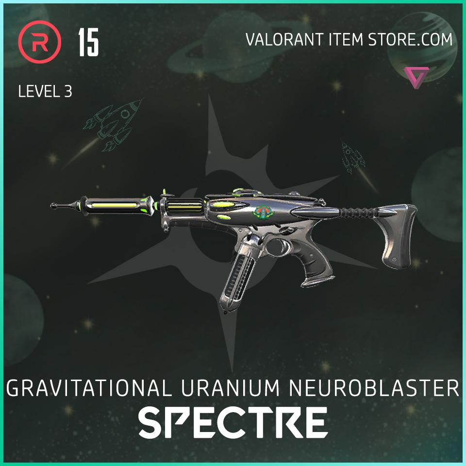 Gun Spectre Level 3 Valorant Skin