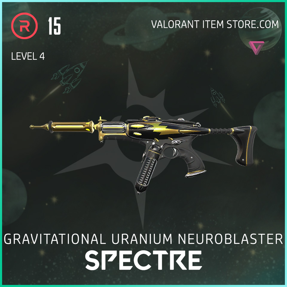 Gun Spectre Level 4 Valorant Skin