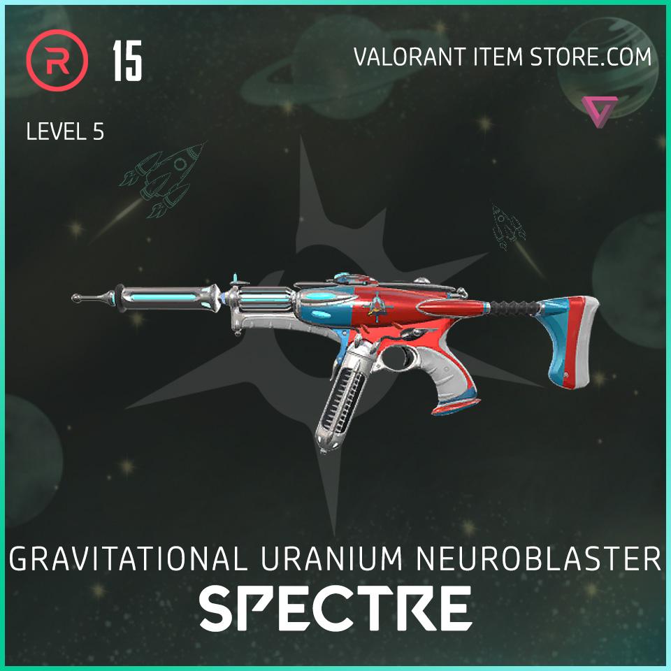 Gun Spectre Level 5 Valorant Skin