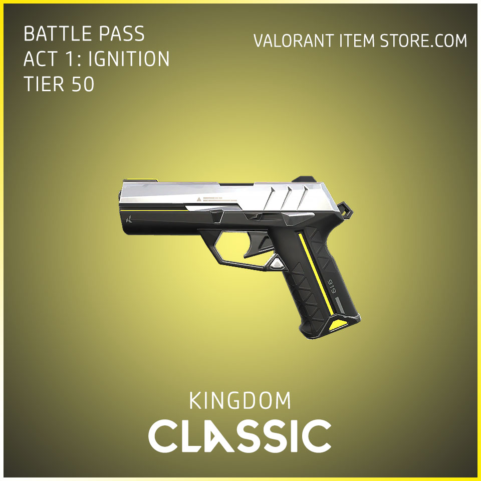 Kingdom Classic Act 1 Ignition Tier 50 Valorant Skin