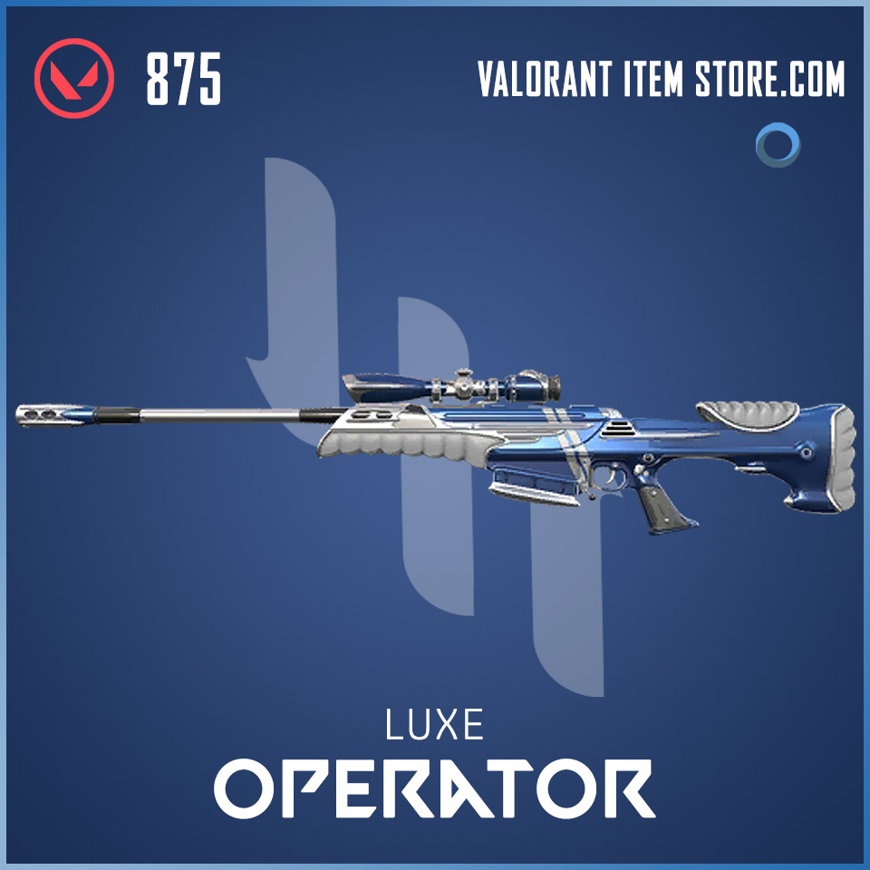 Luxe Operator Valorant skin
