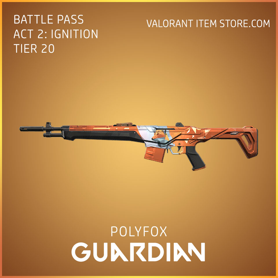 Polyfox Guardian Act 2 Ignition Tier 20 Valorant Skin
