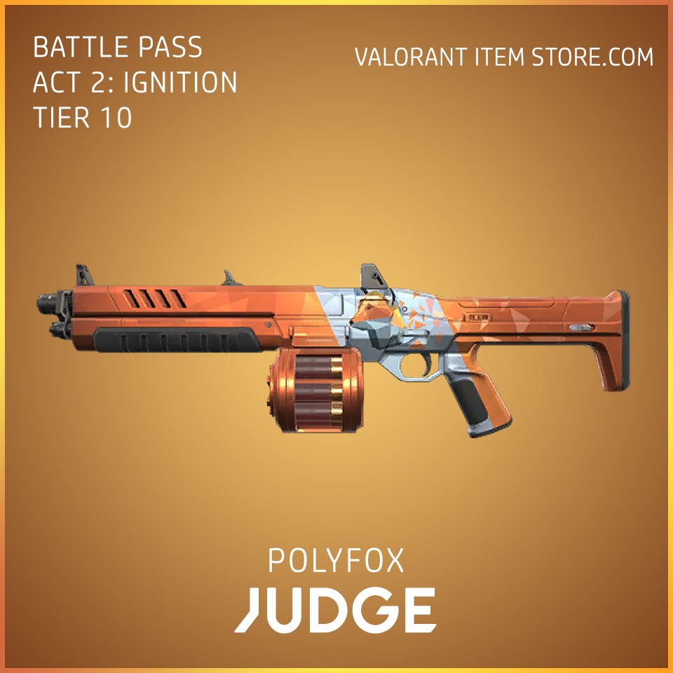 Polyfox Judge Act 2 Ignition Tier 10 Valorant Skin