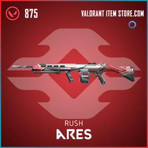 Rush Ares Valorant Skin