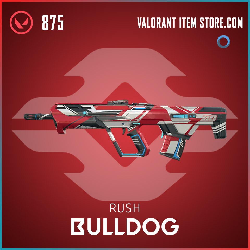 Rush Bulldog Valorant Skin